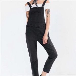 BDG urban outfitters size xs black overall denim.